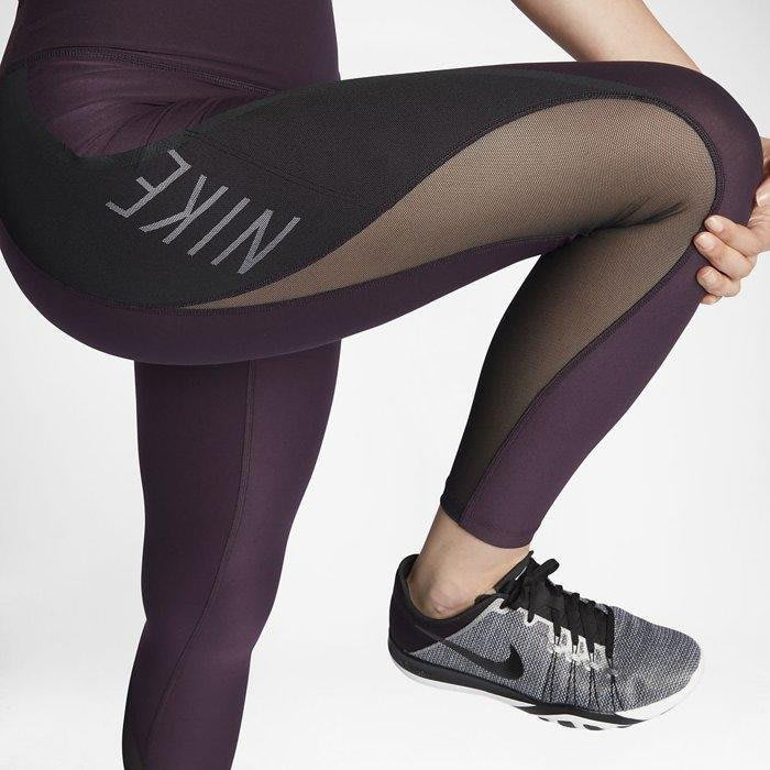 Nike 全新正品 女 跑步 有氧 運動 瑜珈 訓練 緊身褲 彈力褲 顯瘦 M號