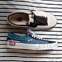 VANS Slip- On CAP 滑板鞋 陰陽  解構 白 藍...