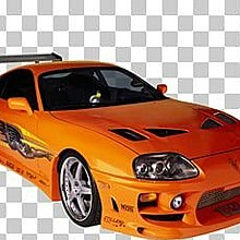 Hotwheels Diecast 1:64 Toyota Supra【Fast and Furious 2】