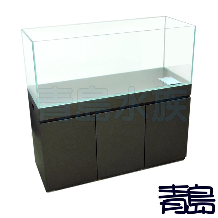 Y/BK。。青島水族。。類ADA精緻型貼皮架==超白玻璃缸180*60*60cm/15mm+88H木架/6尺(多色可選)