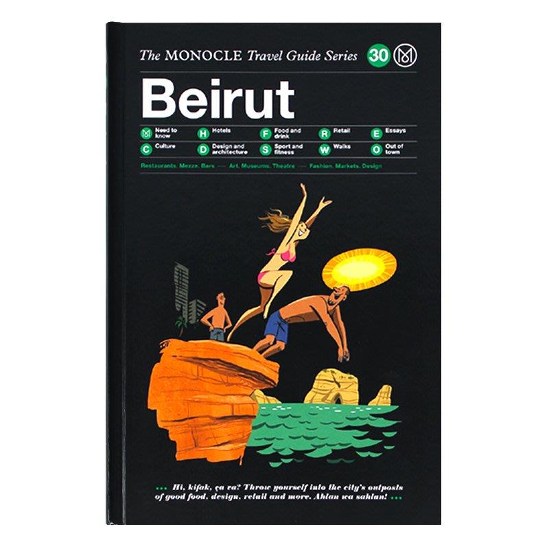 Beirut: The Monocle Travel Guide Series 貝魯特 城市旅行指南 英文原版