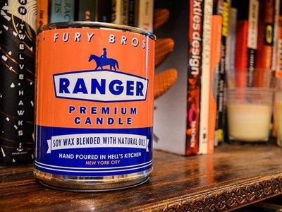 美國製 Fury Bros Ranger PREMIUM CANDLE遊騎兵天然有機香氛蠟燭