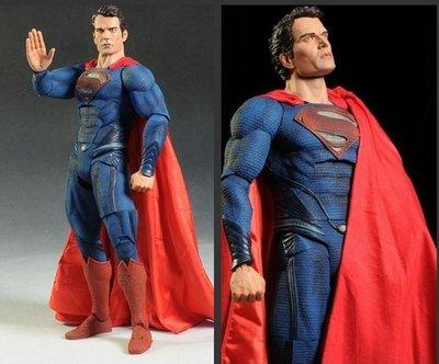 [APPS STORE4]前三免運 正版 公仔 模型 NECA MAN OF STEEL SUPERMAN 鋼鐵英雄超人
