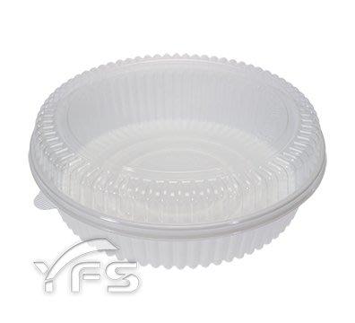 C200-5外燴餐盒(PET蓋)(2200ml)(年菜盒/煲湯鍋/魚翅羹/佛跳牆/大閘蟹/熱炒/油飯)