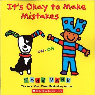 *小貝比的家*IT'S OKAY TO MAKE MISTAKES/平裝/3~6歲/自我認同/中年級