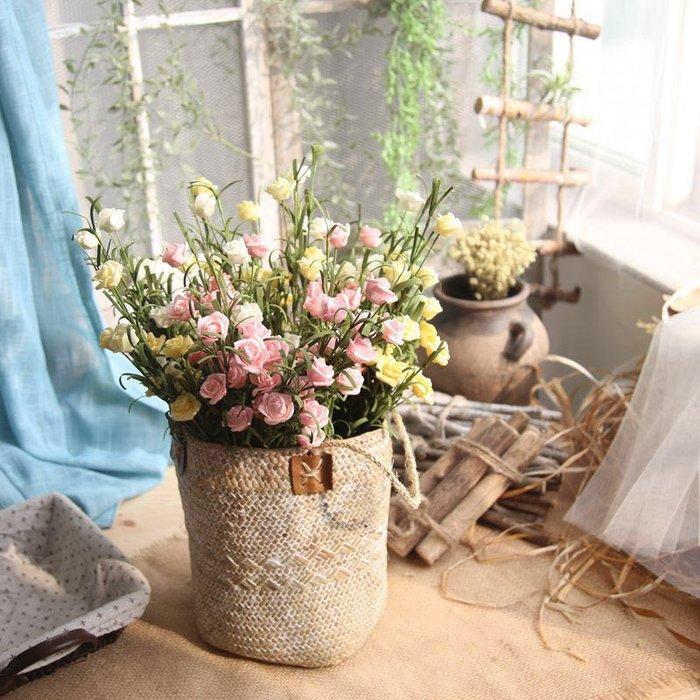 玫瑰花 人造花 玫瑰 假花 PE 人造花 拍照 攝影 佈置 婚禮 粉色 黃色 小花 浪漫 北歐風 拍照 道具 鄉村風