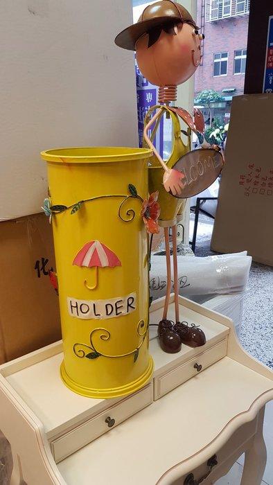 WELCOME 鐵皮娃娃傘桶 傘架 垃圾桶  民宿 日租套房 餐廳門口