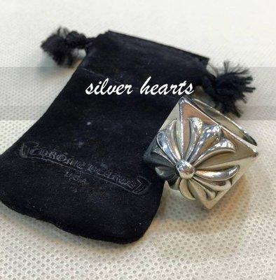【SILVER HEARTS】Goro's Chrome Hearts 克羅心 floral cross 純銀戒指 指環