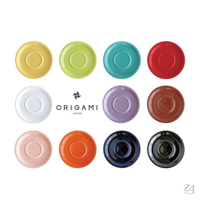 日本 ORIGAMI 摺紙咖啡陶瓷拿鐵碗盤 (250ml用) (11色)