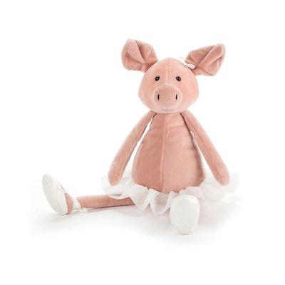 預購 英國 Jellycat DANCING Piglet 澎裙芭蕾舞跳舞粉紅小豬寶寶絨毛娃娃 精緻觸感安撫玩偶 生日禮