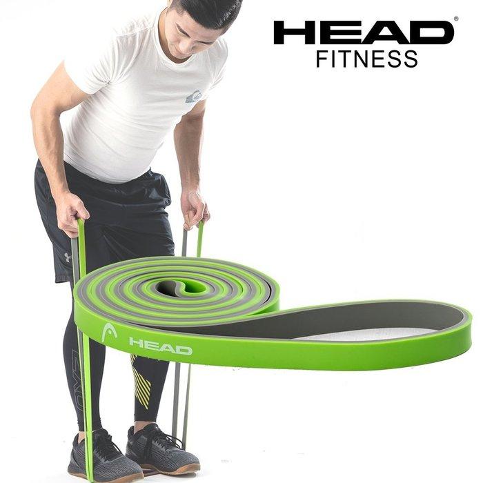 HEAD 雙色環狀阻力帶-輕量級 寬1.3cm 國際級阻力 瑜珈 健身 拉力帶 天然乳膠 彈力帶 專業 好吉康健美科技