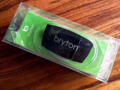 全新 bryton 智慧心跳感測器 心跳帶 支援藍牙 ANT+ 心率