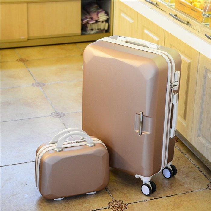 旅行拉桿箱 登機 拉桿箱萬向輪女士學生行李箱24寸旅行箱子母箱20寸登機箱旅游箱包