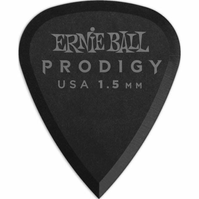 ☆唐尼樂器︵☆ Ernie Ball 9199 Prodigy Standard 1.50mm 黑色 吉他彈片 Pick