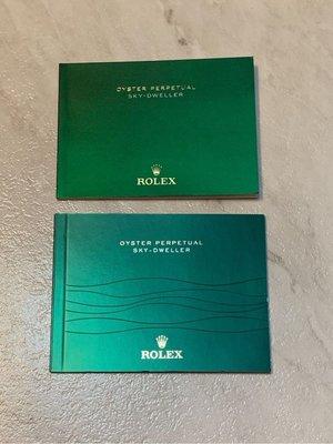 勞力士 Rolex 原廠手冊 原廠說明書 Sky-Dweller 326934 326933 326935 326938 2013-2018 天行者