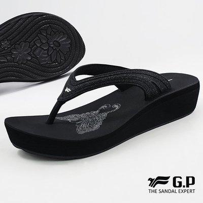 小市民倉庫~寄超商免運~GP~阿亮代言~新款~休閒輕量拖鞋~柔軟舒適~夾腳拖鞋~GP拖鞋~G8523W-10