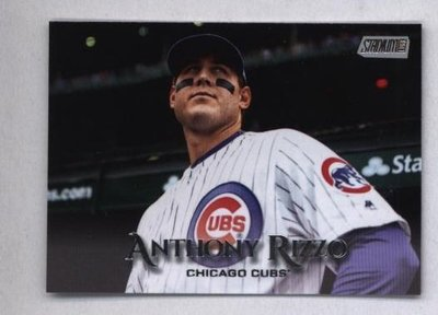 2019 Topps Stadium Club #100 Anthony Rizzo - Chicago Cubs