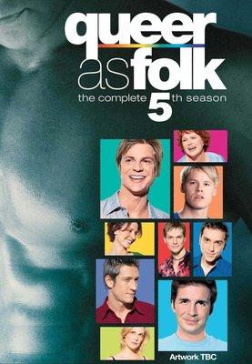 任選2套999元含運費-全新 歐美劇 《Queer as Folk 同志亦凡人》第1-5季 DVD