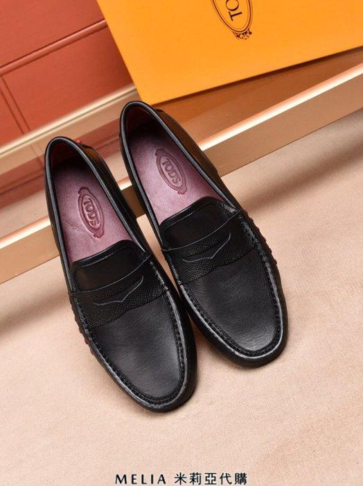 Melia 米莉亞代購 TOD'S TODS 義大利代購 英倫風格 2018ss 春夏最新款 男士 豆豆鞋 懶人鞋