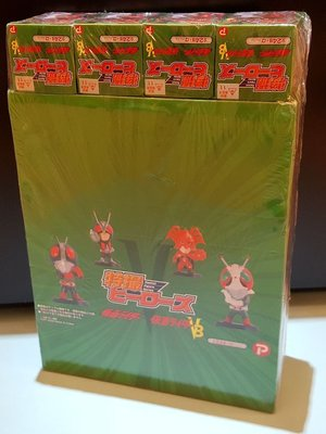 2007年Plex幪面超人特撮Masked Rider Heroes Pocket Figure Mini Figure