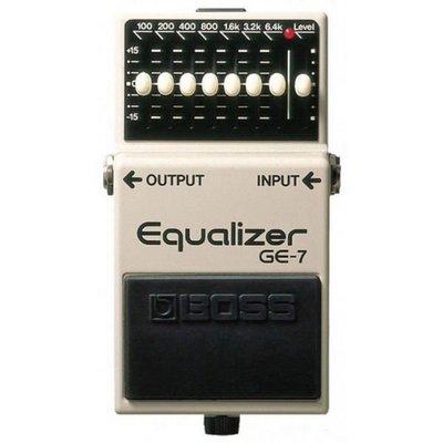 ☆ 唐尼樂器︵☆ Boss GE-7 Equalizer EQ 等化器電吉他單顆效果(最受歡迎的 EQ 之一)