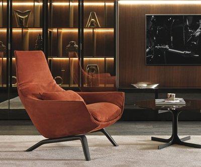 [米蘭諾家具]複刻愛莎米亞 時尚扶手主人椅 扶手單人椅 單人沙發 主人椅 現代主人椅
