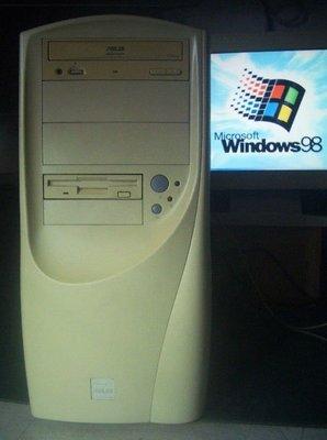 【窮人電腦】有2個ISA插槽的華碩主機機出清!跑Win98系統適合廣告招牌切割系統!桃園中壢以北免費裝機!
