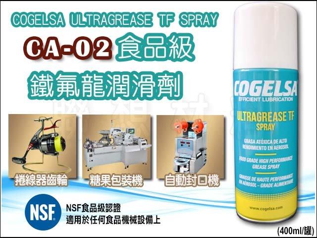 聯想材料【CA-02】COGELSA 捲線器培林保養油 → 潤滑&保養一次完成 (680元/罐)