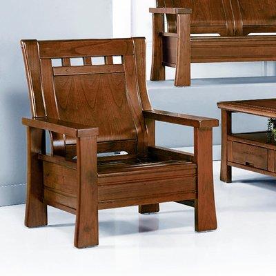 【優比傢俱生活館】19 歡樂購-160型淺胡桃色組椅-1人/一人/單人木椅 KH15-2