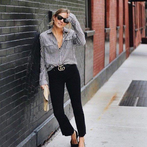 【代購】 明星愛款 Paige Colette 抽鬚crop 牛仔褲