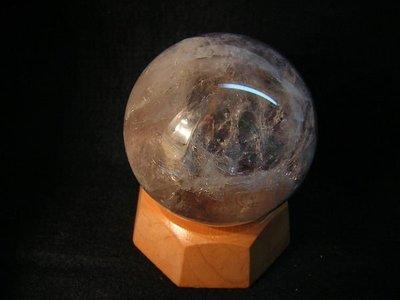 【采鑫坊】紫水晶球~67mm《低起標.無底價》附座~出清件