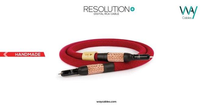 WAY CABLES 數位線 RESOLUTION+