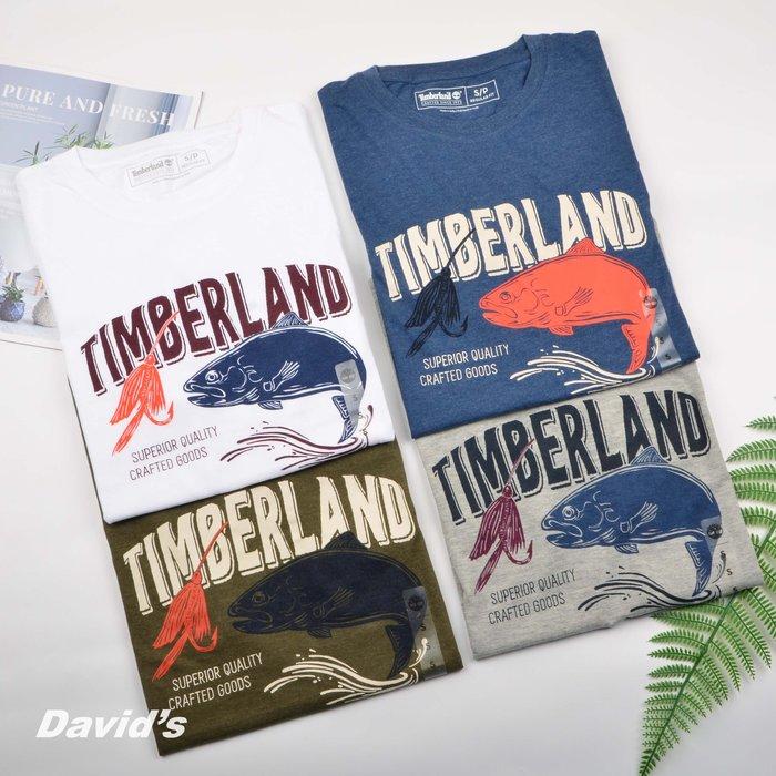 Timberland 短袖 T恤 上衣 衣服 多色 男 踢不爛 美國空運 現貨 全新【A1ZAY】美國大衛