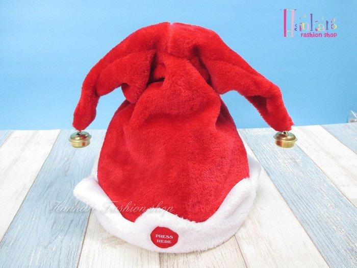 ☆[Hankaro]☆電動搖擺雙角聖誕帽