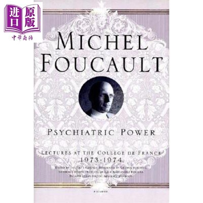 Psychiatric Power: Lectures at the Collège de France 3 英文原版