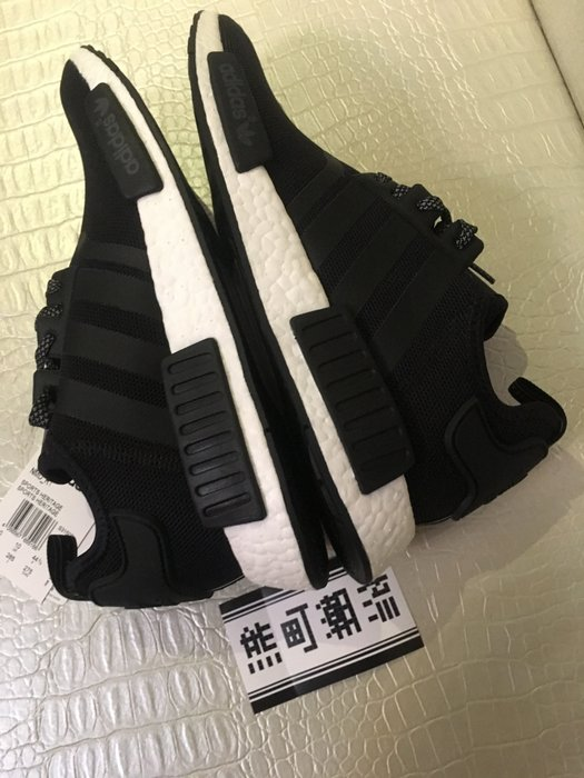 全新正品 NMD_R1 REFLECTIVE PACK 反光系列 愛迪達 S31506 全白 S31505全黑