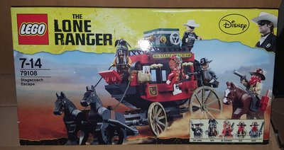 MISB LEGO The Lone Ranger - Stagecoach Escape (79108)