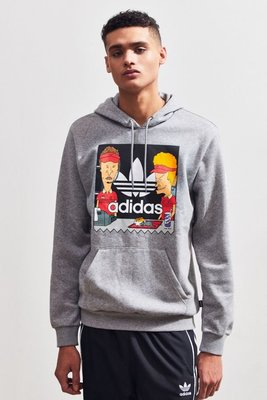 代購 adidas X Beavis And Butt-Head Hoodie Sweatshirt