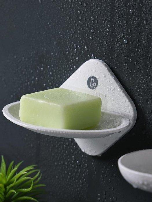 麥麥部落 香皂肥皂盒瀝水吸盤式皂盒居居家用衛生間浴室創意免打孔置物MB9D8