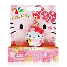 Hello Kitty 3D 達摩造型悠遊卡-櫻花限定版