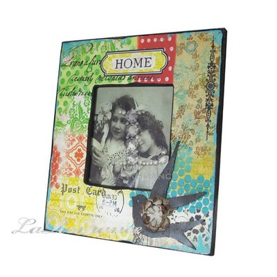 【芮洛蔓 La Romance】 典雅印花復古木製相框 - HOME / 生日 / 畢業禮物