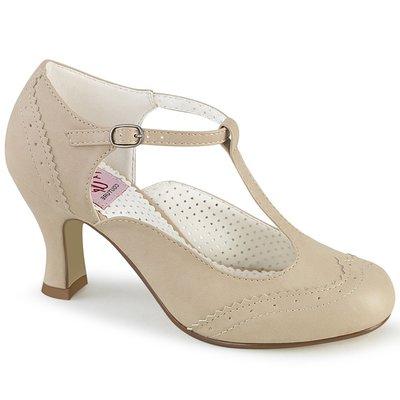 Shoes InStyle《三吋》美國品牌 PIN UP CONTURE 原廠正品瑪莉珍低跟包鞋 有大尺碼『駝色』