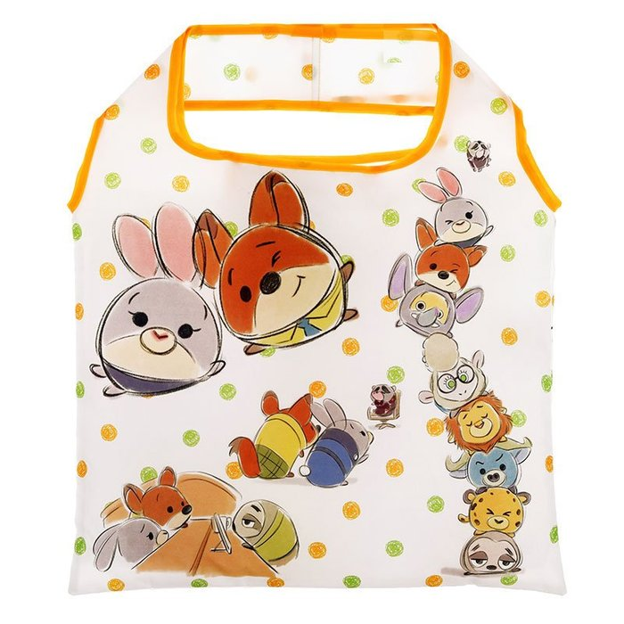 現貨 日本迪士尼商品 動物方程式/奇奇蒂蒂 收納環保袋