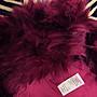 保證真品!英國NEXT酒紅色毛怪偽皮草毛絨絨女童保暖耳朵帽圍帽子+圍巾(7-10Y)/萬聖PARTY必備!!