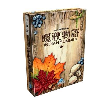 【陽光桌遊】(免運) 暖秋物語 Indian Summer 繁體中文版 印地安夏日 正版 益智遊戲