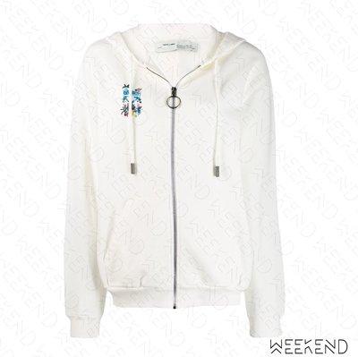 【WEEKEND】 OFF WHITE De Graft Arrows 長袖 衛衣 帽T 外套 白色 19秋冬