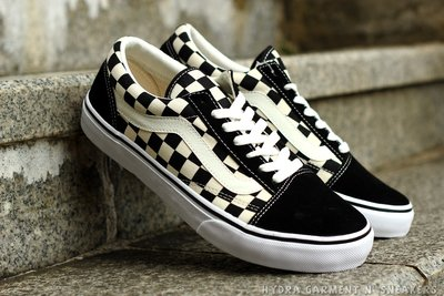 【HYDRA】VANS Old Skool Checkerboard  棋盤 格紋 格子 黑白 滑板鞋【V36CL】