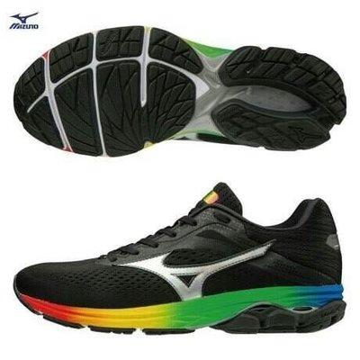 美津濃 MIZUNO 2019 大阪馬拉松 紀念款 WAVE RIDER 23 OSAKA 慢跑鞋 馬拉松鞋  J1GD190373 24-26 $3680