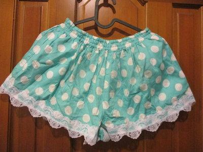 全新童裝出清--☆WHY AND 1/2 ☆--水玉點點蕾絲裙褲--11號