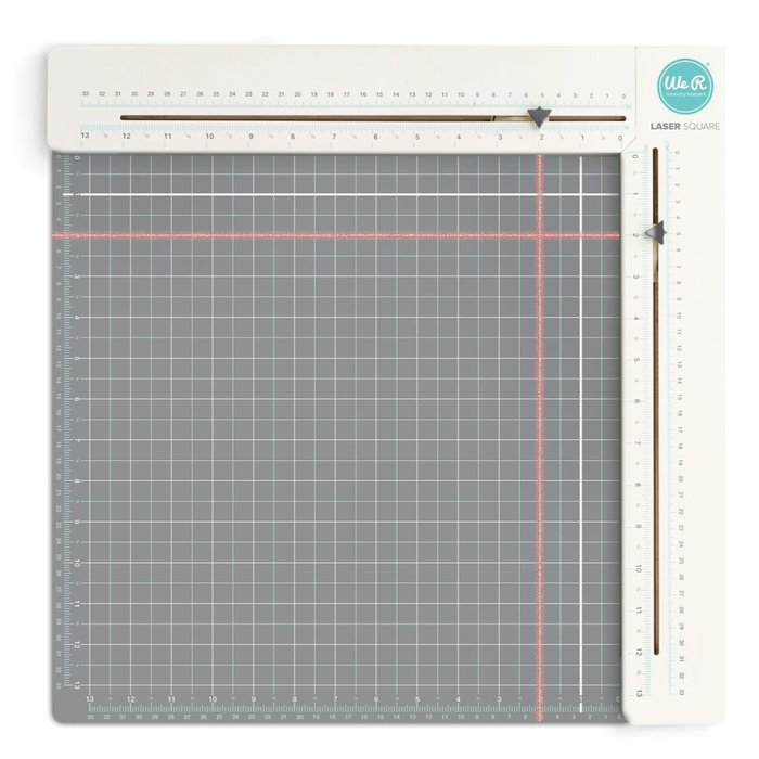 ~❤美國寶寶的衣櫥❤~(現貨)美國 We R Memory Laser Square& Mat Tool雷射對齊尺規板